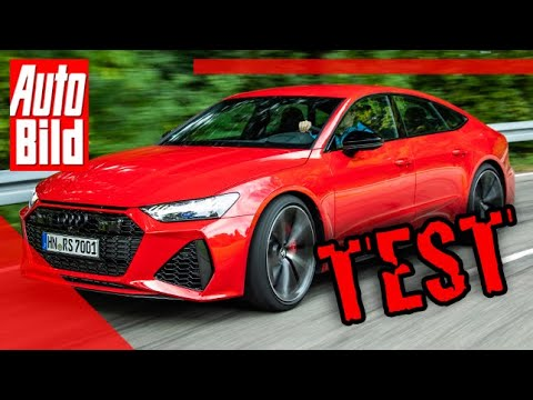 Audi RS 7 Sportback (2020): Auto - Test - Fahrbericht - Sport - Infos