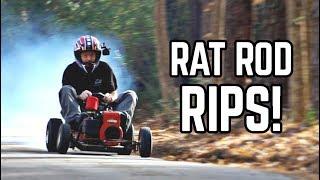 Rat Rod Wagon HAULS | Built Briggs & Stratton Flathead