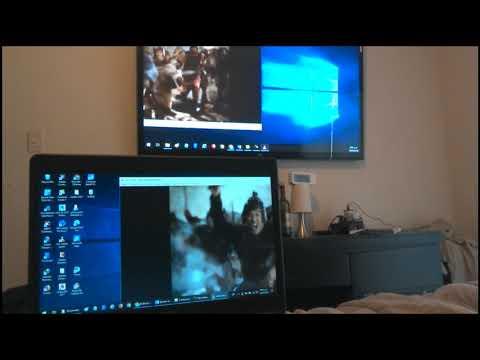 Proyectar Laptop o PC en Proyector Multimedia o TV, conectar, duplicar, extender o ampliar pantalla