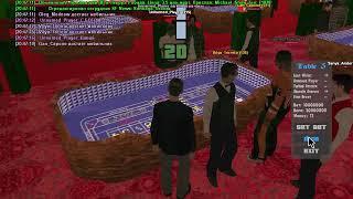 Samp-Rp Revolution играю в казино на 10 млн.вирт
