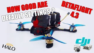The Ultimate FPV Freestyle Drone Maiden & Initial PID Tuning - HaloRC Archon V3 - Betaflight 4.3