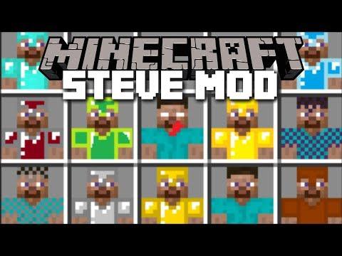 Minecraft STEVE MOD / SURVIVE THE EVIL HEROBRINE STEVE!! Minecraft