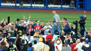 legends of wrestling citifield..Goldberg returns 2015