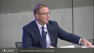 School Employer Advisory Committee Meeting - CalPERS | May 2, 2018