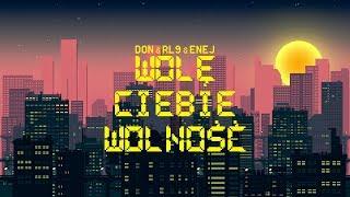 Kadr z teledysku Wolę Ciebie Wolność tekst piosenki Donatan, Robert Lewandowski i Enej