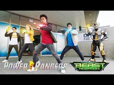 """Ranger Identities   Power Rangers Beast Morphers Episode 17 """"Ranger Reveal"""""""