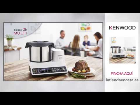 Procesador de alimentos Kenwood KCook Multi CCL401WH con 6 programas predeterminados