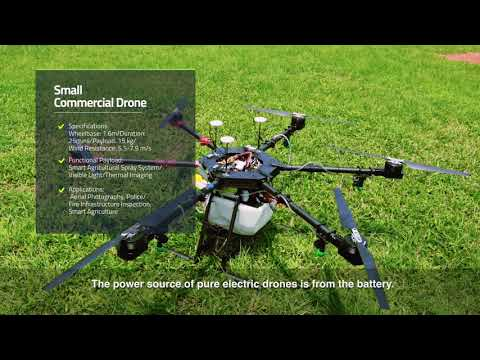 Hybrid Power Drone with High Payload and Duration