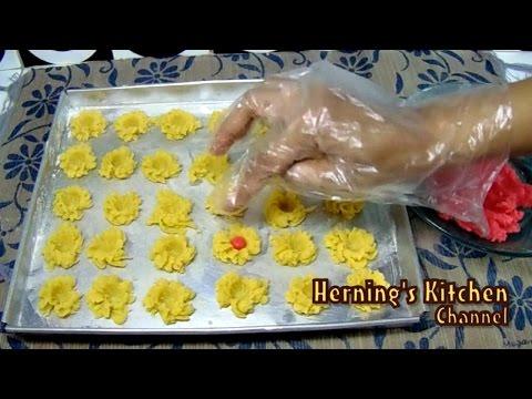 Video Resep Cara Membuat Kue Semprit Jadul Spesial Lebaran