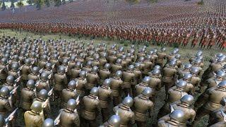 30.000 WW2 US SOLDIERS vs 70.000 ARCHERS - Ultimate Epic Battle Simulator