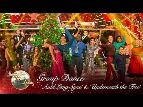 The Strictly Cast dance to a medley of 'Auld Lang Syne' and 'Underneath the Tree' - Strictly 2016