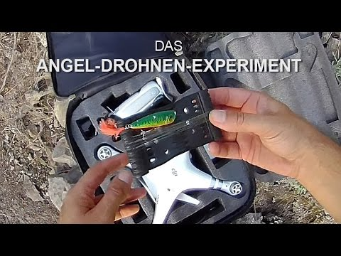 Drone Popping - Drohnen-Angeln - BLACK BASS vs DJI PHANTOM 3  - Schwarzbarschangeln Gran Canaria