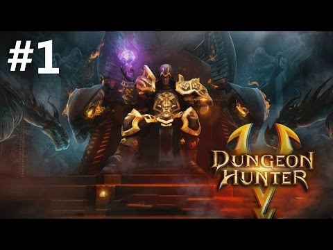 Dungeon Hunter 5 Android GamePlay Part 1 (1080p)