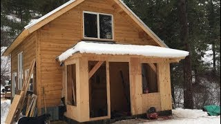 Download Youtube: Mountain Dream Home — Timber Frame Mudroom Gets Closed In