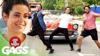 bromas Baile en la calle