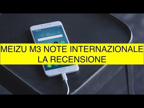 Recensione Meizu M3 Note internazionale