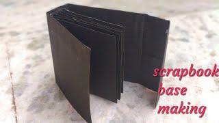 Scrapbook Base Making | Part 1| Scrapbook Making| Base Of Scrapbook