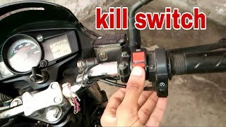How to install kill switch in hero passion xpro | for all bike and scooty | mr. Automobiler