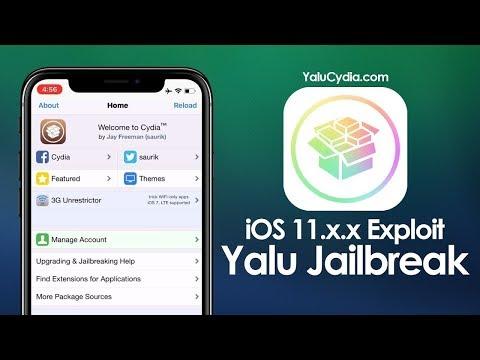 Jailbreak IPA Yalu112 iOS 11 2 5 Cydia Impactor 0 9 43