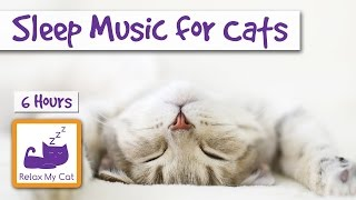 6 Hours of Cat Music to Help your Cats and Kittens Sleep 🐱 #SLEEP12