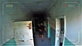 Призрак напал на человека в заброшенном детском саду. Жуткое паранормальное явление
