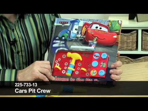 Pixar Cars: Welcome To The Pit Crew Interactive Book By 24studio
