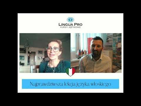 Kadr z filmu na youtube - Najprawdziwsza lekcja języka włoskiego 14_20 online