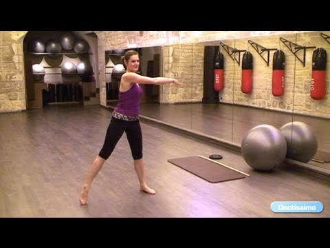 Les exercices pour les muscles de la bassine sur fitbole