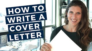 Writing a Cover Letter for an Internship