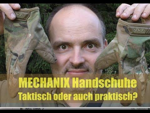Mechanix Tactical Handschuhe - taktisch oder auch praktisch?