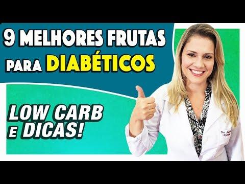 Uma lista de frutas para diabéticos