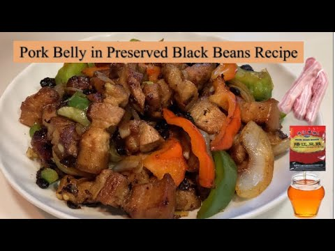 Pork Belly in Preserved Black Beans Recipe | Cooking Maid Hongkong