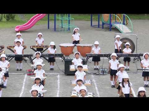 【聖和学院幼稚園・聖和学院第二幼稚園】マーチング練習風景「白鳥の湖」