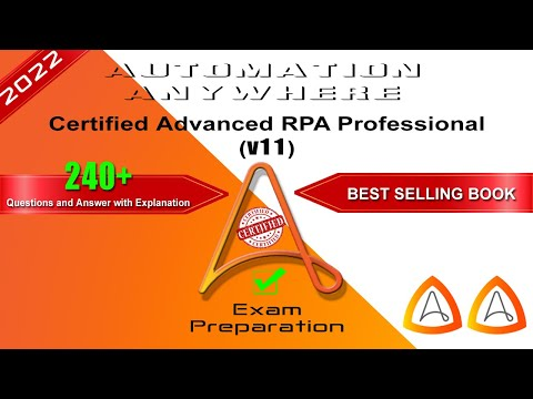 v11   Automation Anywhere Certified Advanced RPA Professional ...
