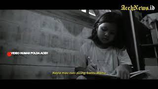 VIDEO - Terharu! Cita-cita Jadi Polwan Anak Ini Kirim Surat Untuk Kapolda Aceh