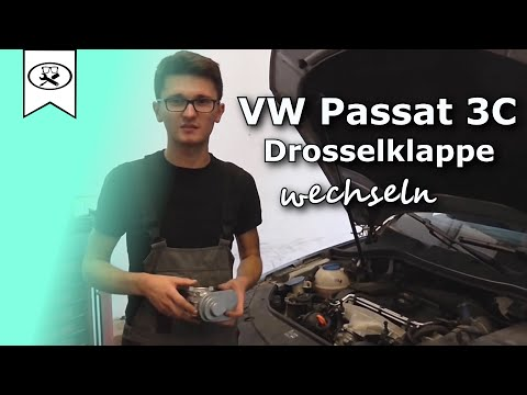 VW 2.0 Passat 3C Drosselklappe wechseln  |  Switch throttle  |  VitjaWolf | Tutorial | HD