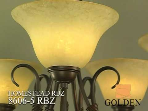 Video for Homestead Rubbed Bronze Four-Light Bath Fixture