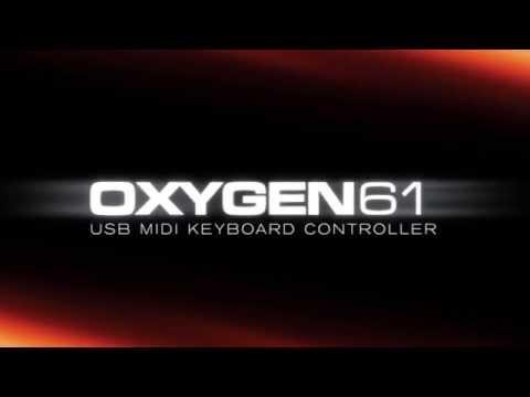 M Audio Oxygen 61Keyboard Controller
