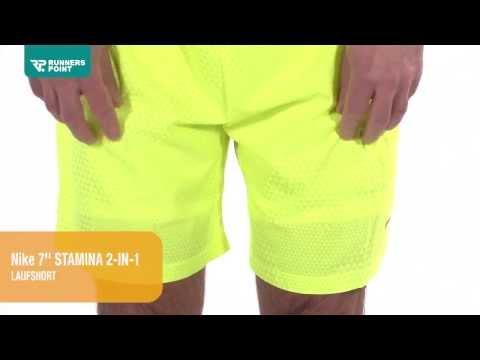 Herren Laufhose Nike 7'' Stamina 2-in-1 Laufshorts