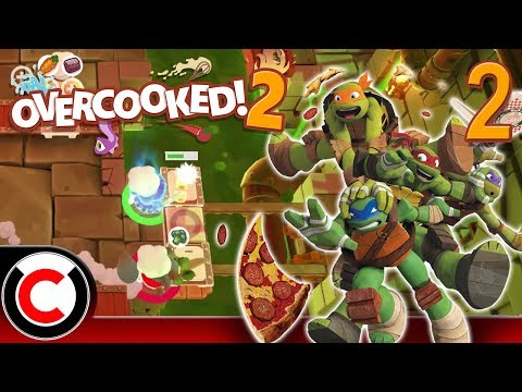 Overcooked! 2 (Hangry Horde DLC): Sewer Chefs - #2 - Ultra Creepy