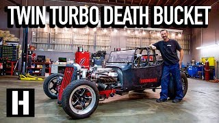 How is This Street Legal?? Bad Daddy Braddy's 1000hp LS T-Bucket