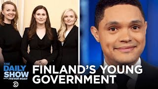 Finland's Super Young New Prime Minister | The Daily Show
