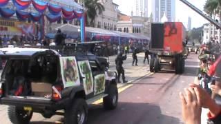 Demo By SOF Of Malaysia At Hari Ulangtahun Ke-80 TDM, Dataran Merdeka, Kuala Lumpur