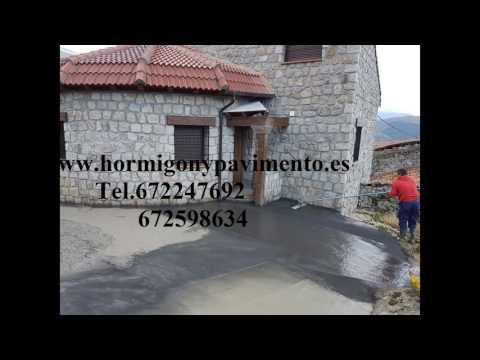Ofertas Hormigon Impreso Cueva de Roa (La),Burgos Tel.672247692