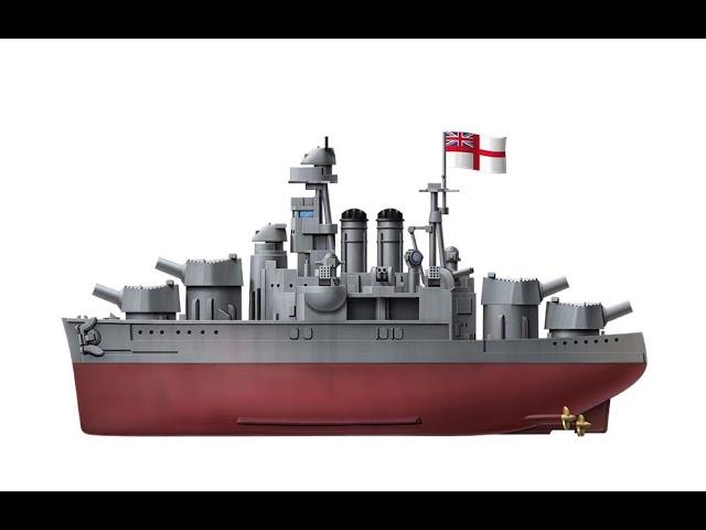 Meng Model Warship Builder MNGWB-005 HMS Hood