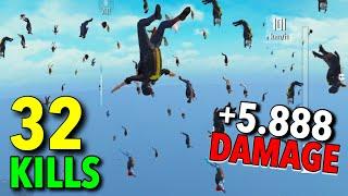 NEW WORLD RECORD 5888 DAMAGE!!! | 32 KILLS SOLO VS SQUAD | PUBG MOBILE