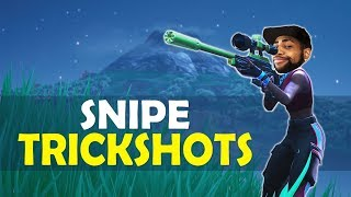 DAEQUAN SNIPE TRICK SHOTS   HIGH KILL FUNNY GAME