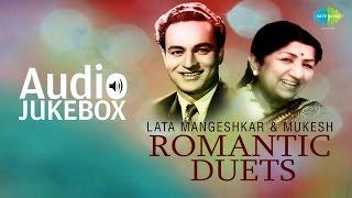 Best Of Lata Mangeshkar & Mukesh  Duets | Classic Romantic Songs | Audio Jukebox
