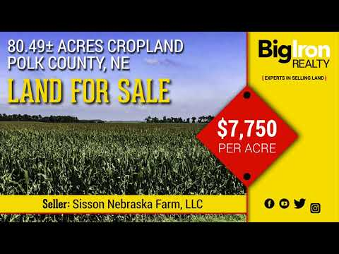 80.49+/- Acres Polk County, Nebraska