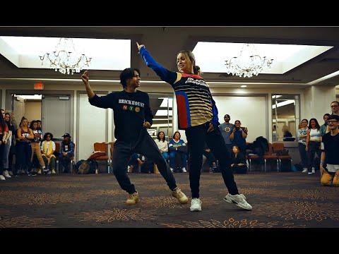 Kenneth San Jose and Taylor Hatala😍🔥 HEAT - Chris Brown ¦ Alexander Chung Choreography